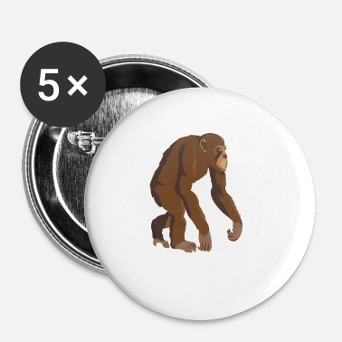Chimpanse Chimpanse! - Buttons/Badges lille, 25 mm