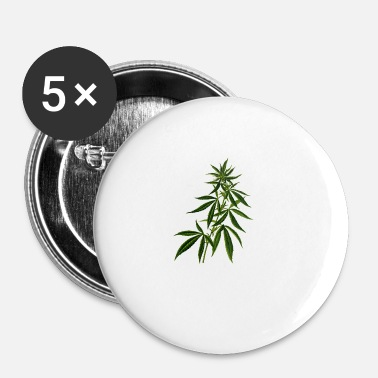 Anlæg cannabis marihuana Weed anlæg - Buttons/Badges lille, 25 mm