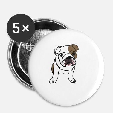 Bulldog Bulldog - Spilla piccola 25 mm