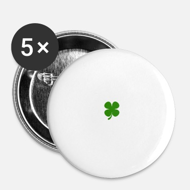 Green Peace Peace Love Ragoût irlandais Green Trèfle St Patricks Day - Badge petit 25 mm