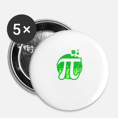 Pi Day Chanceux Pi - Pi Day - Badge petit 25 mm
