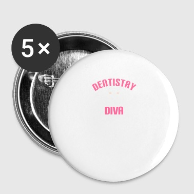 DENTAIRE - DENTAIRE - HELFERIN - FEMME - DENTS - Badge petit 25 mm