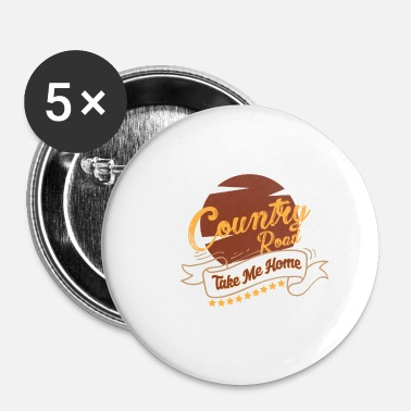 Country Musique country musique country musique country cadeau - Badge petit 25 mm