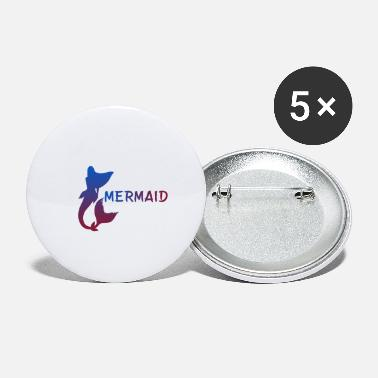 Mermaid Mermaid ... Mermaid - Small Buttons