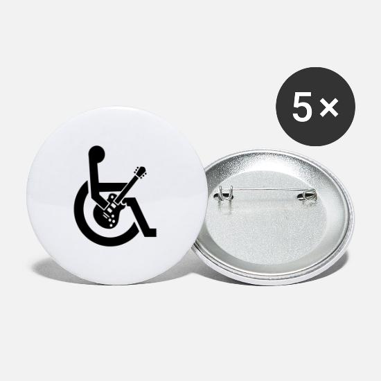 Wheelchair Buttons - Guitarguy2 - Small Buttons white