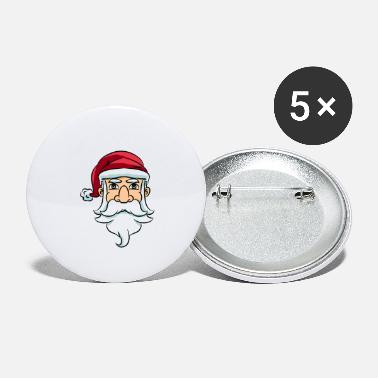 Kids Christmas Santa Claus kids winter snow gift - Small Buttons