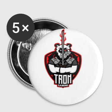 Tron-Gaming-Logo-Transparent - Buttons klein 25 mm