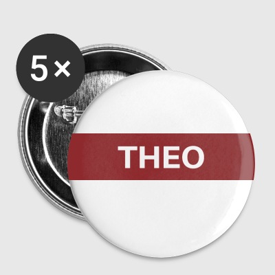 Theo - Buttons klein 25 mm