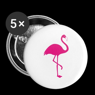 Flamingo - Buttons klein 25 mm