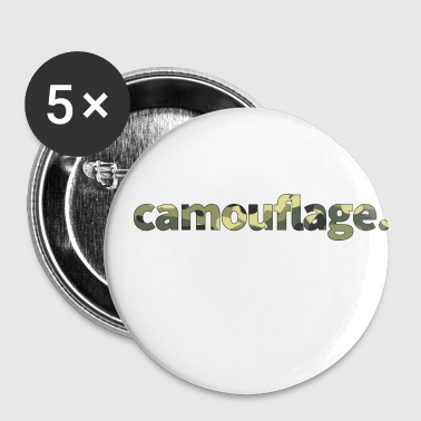 Camouflage - Buttons klein 25 mm