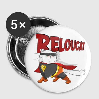 Reloucat - Badge petit 25 mm