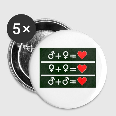 Love Is Love - Buttons small 25 mm