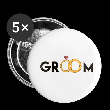 Groom groom - Buttons small 25 mm