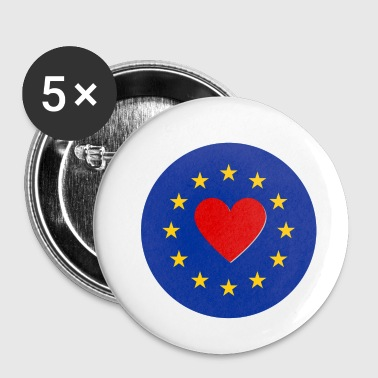 Unione Europea Love Love UE - Spilla piccola 25 mm