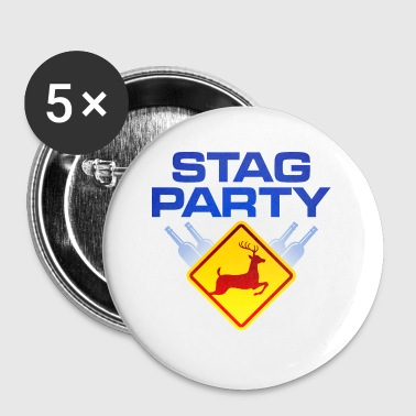 Bachelor / Stag Party - Buttons small 25 mm