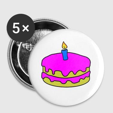 Shop Birthday Cake Buttons online Spreadshirt