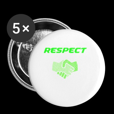 RESPECT - Buttons klein 25 mm