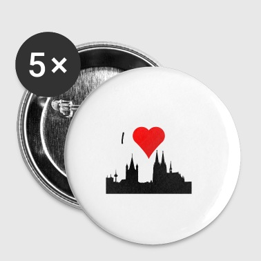 IloveCologne - Buttons klein 25 mm