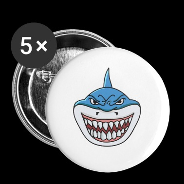 Shark shark - Buttons small 25 mm