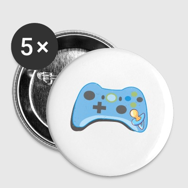 Cute Future Gaming Buddy Baby Gamer Parents - Buttons klein 25 mm