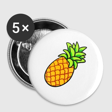 ananas - Buttons klein 25 mm
