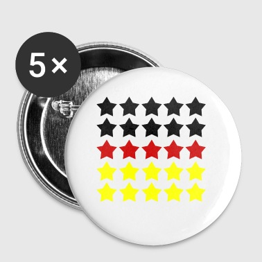 Five Stars Review German Flag - Buttons small 25 mm