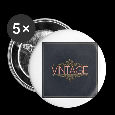 Vintage - Buttons small 25 mm
