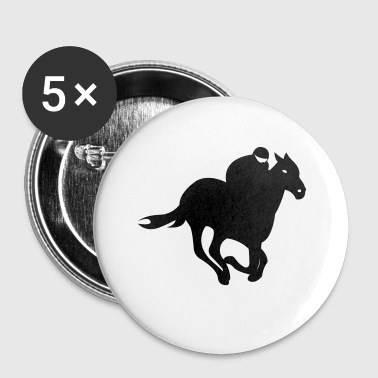 Jockey - Paardenrennen - Buttons klein 25 mm