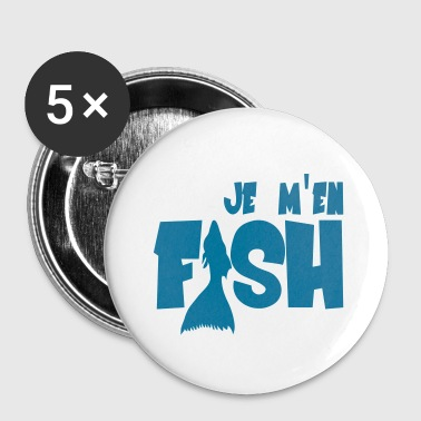 Fish - Buttons klein 25 mm