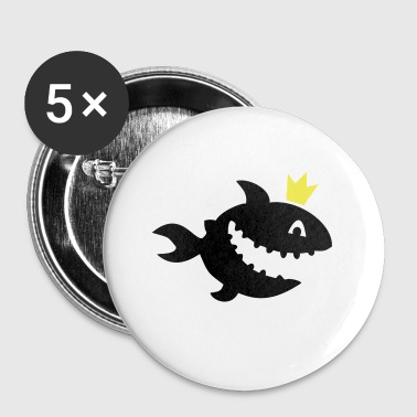shark - Buttons small 25 mm
