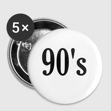 Simple 90's - Buttons klein 25 mm