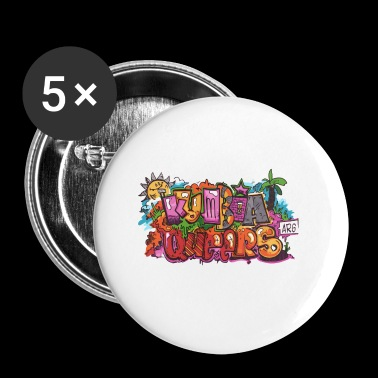 Kumbia queers - Badge petit 25 mm
