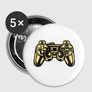 2541614 134867257 Gaming - Buttons klein 25 mm