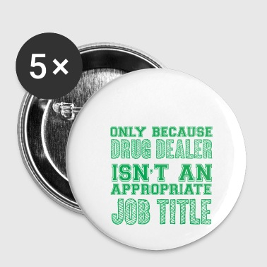 Pharmacy / Pharmacist: Pharmacy Technician - Only - Buttons small 25 mm
