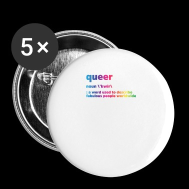 Queer - Badge petit 25 mm