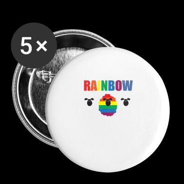 Gay - Rainbow - Sheep - Famiglia - Gay Pride - Gay - Spilla piccola 25 mm