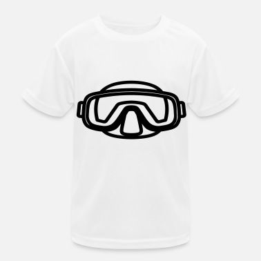 Mask mask - Funktions-T-shirt barn