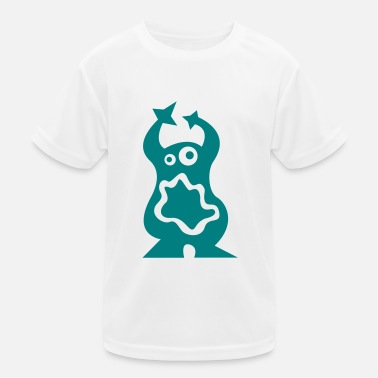 Mustasch Monster - Kids Functional T-Shirt