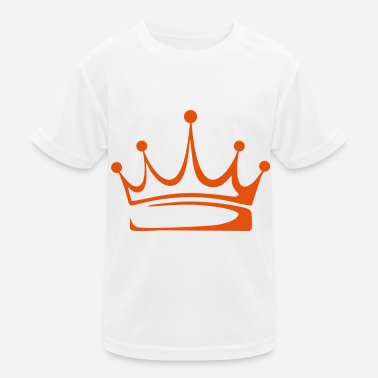 Crown to print on for hoodie, t-shirt, bag - Kids Functional T-Shirt