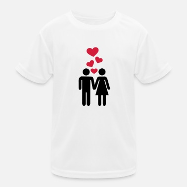 Couple Love - Kids Functional T-Shirt