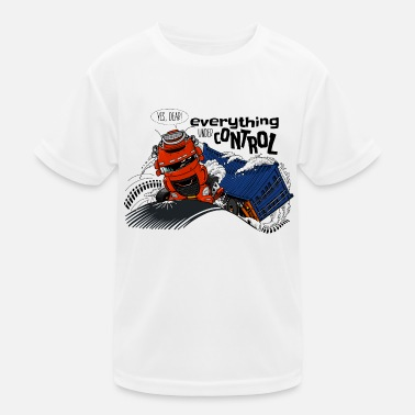 D TRUCK CONTROL AND - Kids Functional T-Shirt