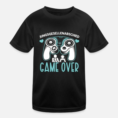 Supergeil Junggesellenabschied Gamer Shirt - Kinder Funktions-T-Shirt