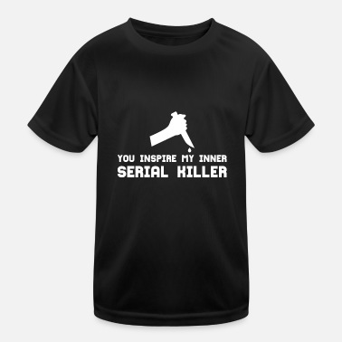 Serial SERIAL KILLER - Kids Functional T-Shirt