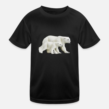 Polar polar bears - Kinder Funktions-T-Shirt