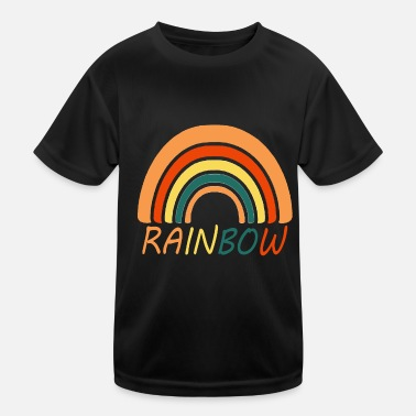 Rainbow - rainbow - rainbow - Kids Functional T-Shirt