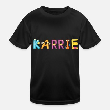 Karriere Karrie - Kinder Funktions-T-Shirt