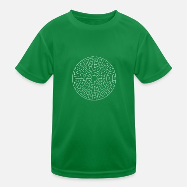 Theta Maze Theta easy - Kinder Funktions-T-Shirt