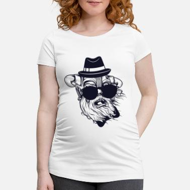 Viking Hipster - Maternity T-Shirt