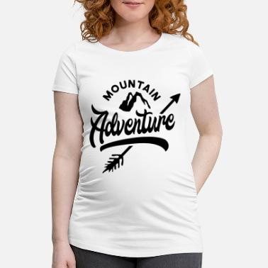 Mountains Mountain Mountaineering Mountaineering Mountains Mountains - Maternity T-Shirt