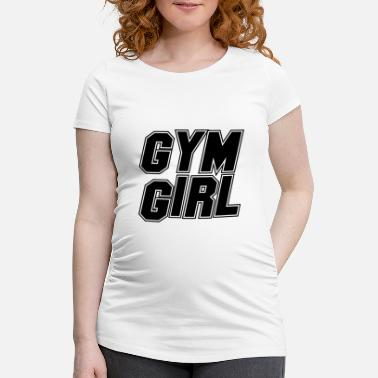 Health (TOPP) GYM GIRL Health Health Fit Training Training - Gravid T-skjorte
